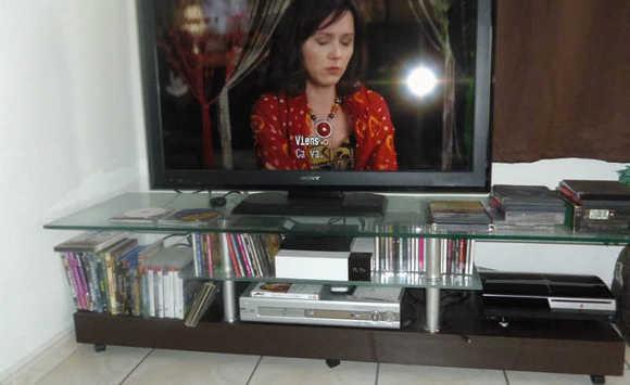 T l cran plat lcd meuble annonce image son la for Meuble tele ecran plat
