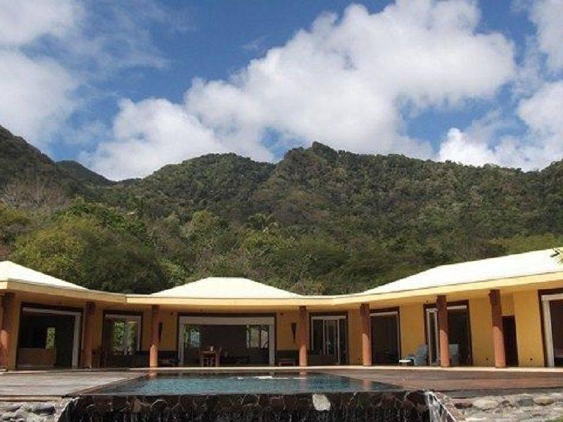 Maison d 39 architecte 332m annonce ventes maison trois rivi res gua - Architecte guadeloupe maison ...