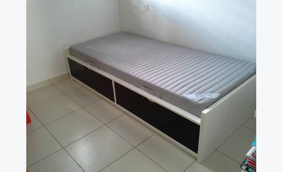 Bed Child Odda Mattress Ikea Furniture And Decoration Saint Martin Cyphoma