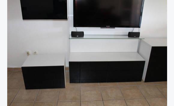 meuble tv etag res modulable ikea meubles et d coration saint martin cyphoma. Black Bedroom Furniture Sets. Home Design Ideas