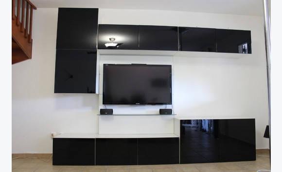 Meuble tv etag res modulable ikea annonce meubles et for Meuble tv modulable
