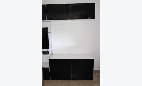 meuble tv etag res modulable ikea annonce meubles et d coration mont vernon saint martin. Black Bedroom Furniture Sets. Home Design Ideas