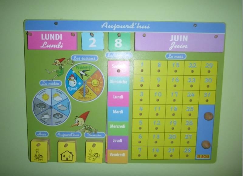 Calendrier Pedagogique.Calendrier Pedagogique Pour Enfant Dvd Cd Livres