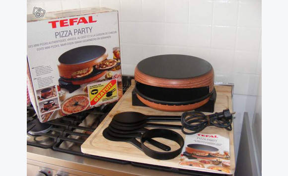 Tefal pizza party neuf annonce meubles et d coration for Pizza party tefal darty