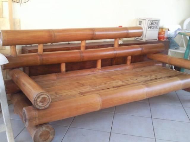 canape gros bambou annonce meubles et d coration saint fran ois guadeloupe. Black Bedroom Furniture Sets. Home Design Ideas