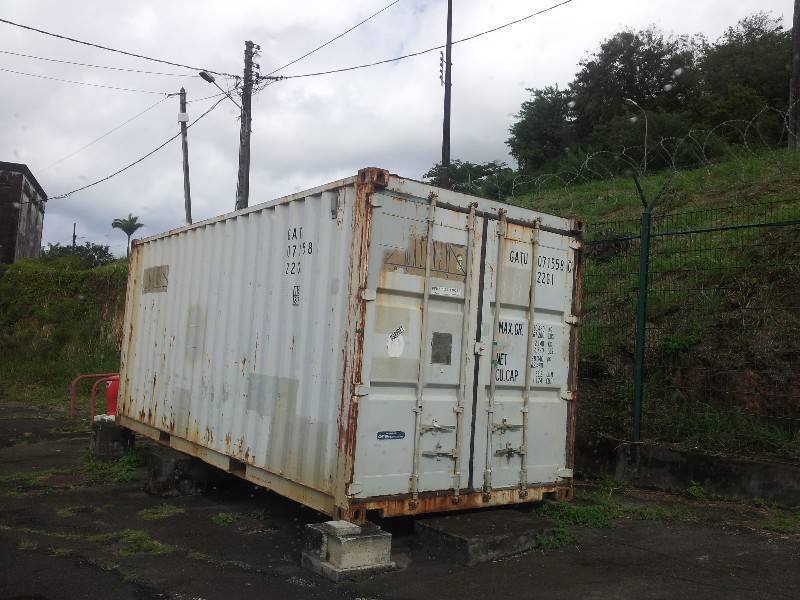 Container annonce divers fort de france martinique for Prix container martinique