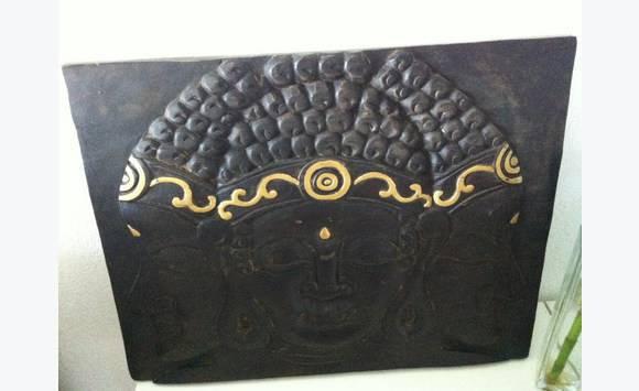 Tableau Bouddha En Bois Maison Du Monde Tbe Meubles Et
