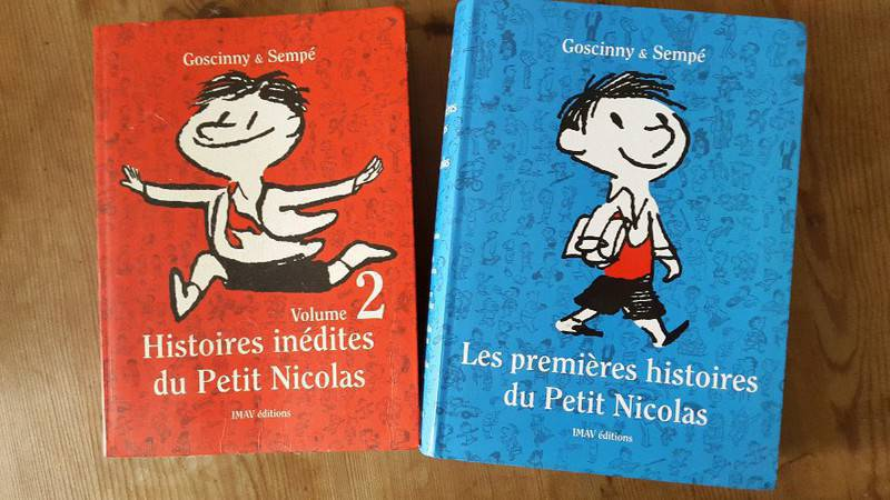 livres de collection le petit nicolas annonce mat riel et livres scolaires colombier saint. Black Bedroom Furniture Sets. Home Design Ideas