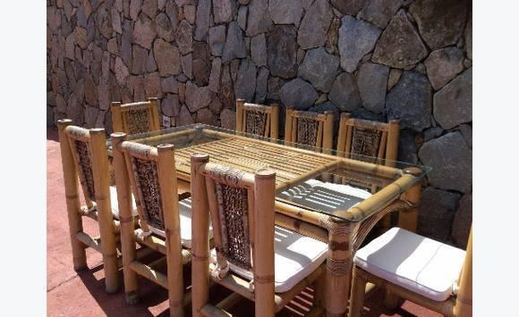 Salle Manger Exterieure Terrasse Annonce Mobilier Et