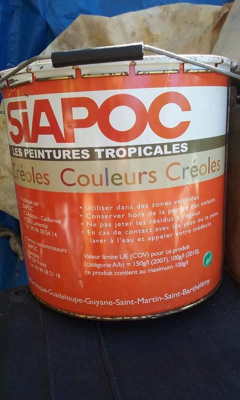 Pot de peinture annonce bricolage jardinage saint barth lemy - Pot de peinture prix ...