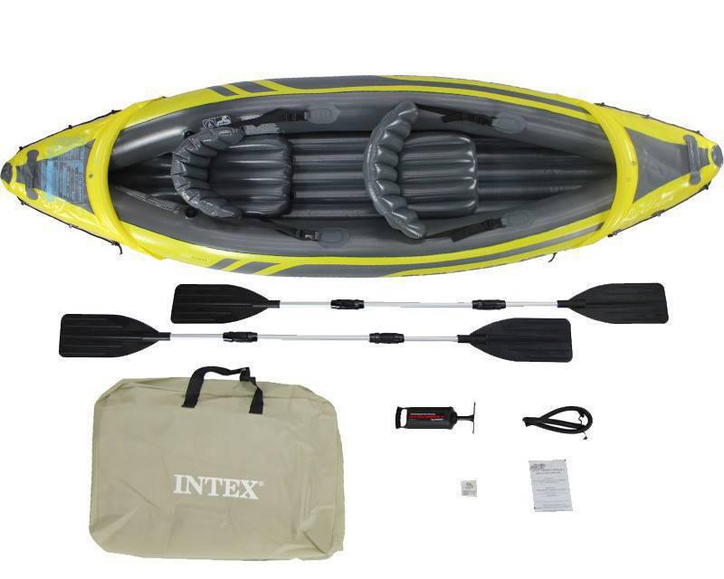 kayak gonflable intex annonce sports et activit s nautiques mont vernon saint martin. Black Bedroom Furniture Sets. Home Design Ideas