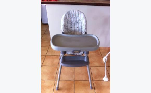 chaise haute graco annonce pu riculture equipement b b saint martin. Black Bedroom Furniture Sets. Home Design Ideas
