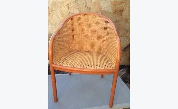 Paire de fauteuils cabriolet rotin annonce meubles et d coration saint ba - Fauteuil cabriolet rotin ...