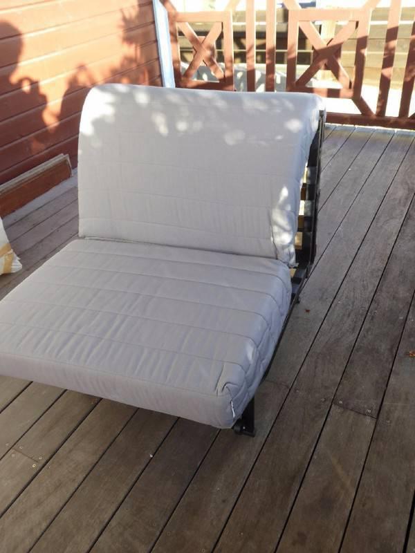 chauffeuse bz ikea une place annonce meubles et d coration cul de sac saint martin. Black Bedroom Furniture Sets. Home Design Ideas