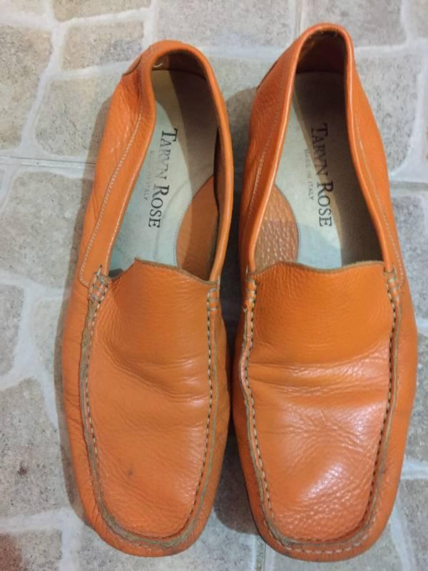 7b730589e3f8 Taryn Rose Leather Men Shoes Orange size 10 - Shoes Sint Maarten ...