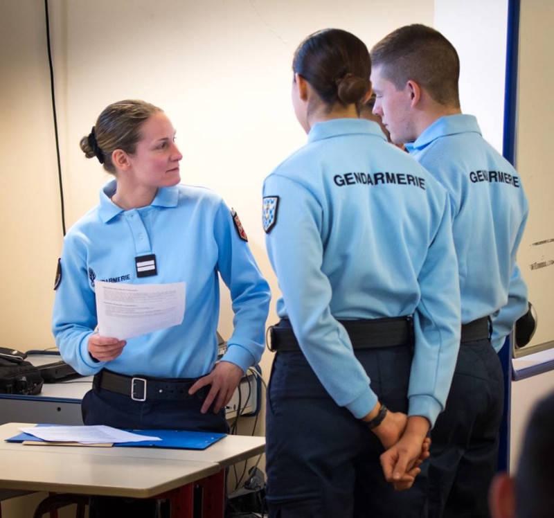 devenir officier de la gendarmerie - annonce