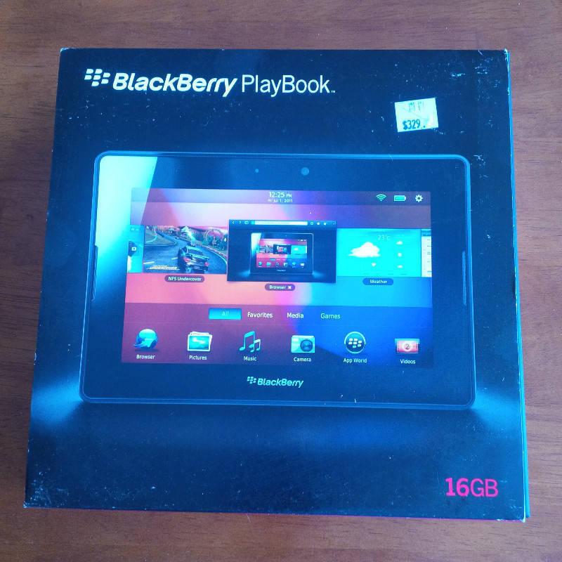Tablet Blackberry HS Playbook - Computers Saint Martin • Cyphoma