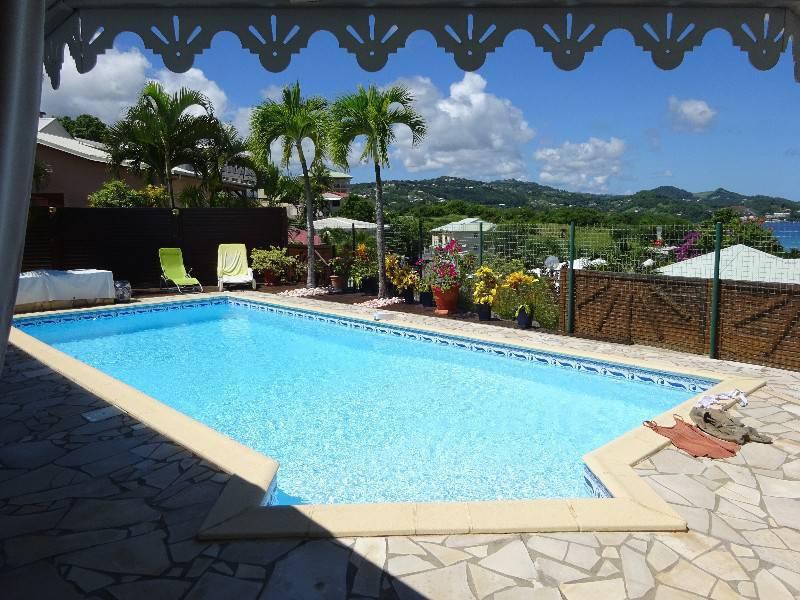 Villa Plain Pied Piscine Vue Mer Annonce Ventes Maison La Trinit Martinique