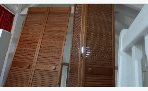 Porte de placard Persienne Pliable - Annonce - Meubles et Décoration ...