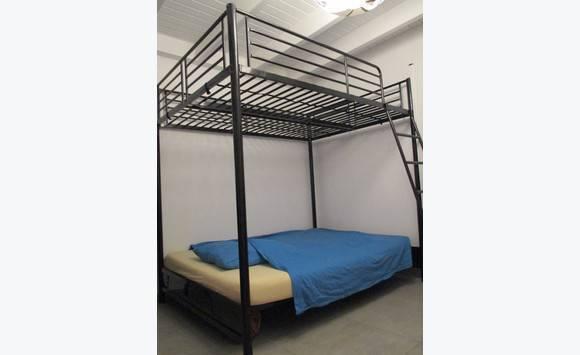 lit superpos 140 x 190 cm annonce meubles et d coration parc de la baie orientale saint martin. Black Bedroom Furniture Sets. Home Design Ideas