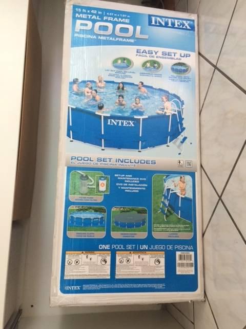 Piscine armature m tallique annonce sports hobbies for Piscine hors sol armature metallique