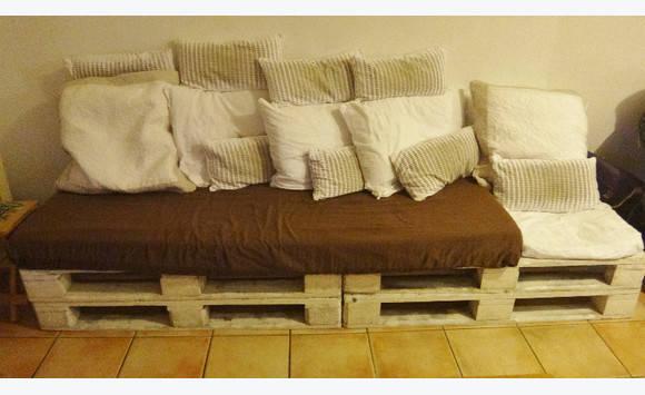 Matelas une personne et coussins canape annonce meubles et d coration p - Prix matelas une personne ...