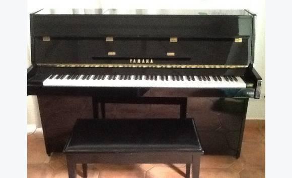 Right Yamaha piano