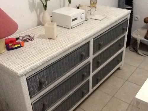 Commode et petit meuble deux tiroirs associes annonce for Meuble concordia