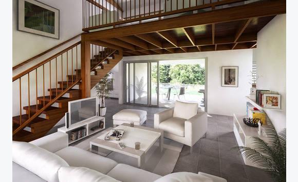 Villa t4 de plein pied avec mezzanine annonce ventes for Maison avec mezzanine