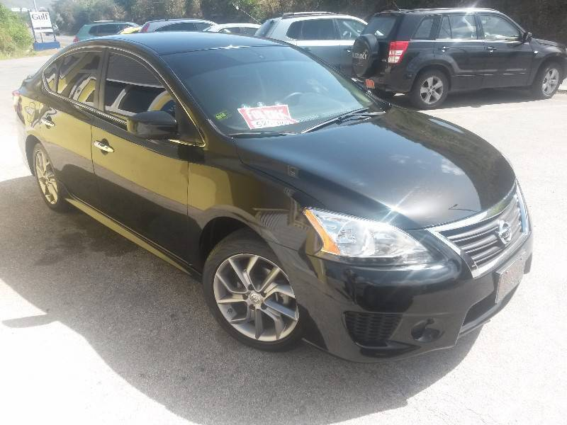 park nissan inventory sedan new drive sentra cvt in front sr wheel brooklyn