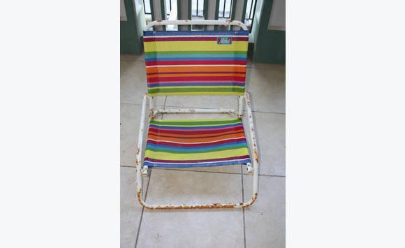 chaises de plage annonce mobilier et quipement d 39 ext rieur parc de la baie orientale saint. Black Bedroom Furniture Sets. Home Design Ideas