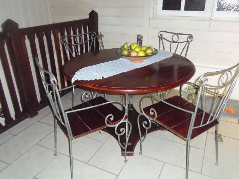 Table Ronde Salle A Manger 4 Chaises Meuble Tv Meubles Et