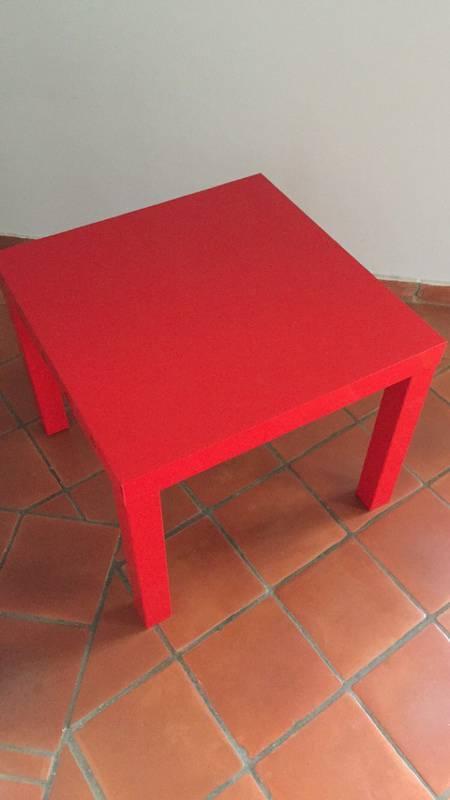 Table Basse Rouge Laqu Annonce Meubles Et D Coration