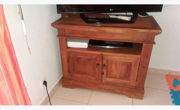 table télé en bois  Annonce  Meubles et Décoration Cul de Sac  ~ Table Tele En Bois