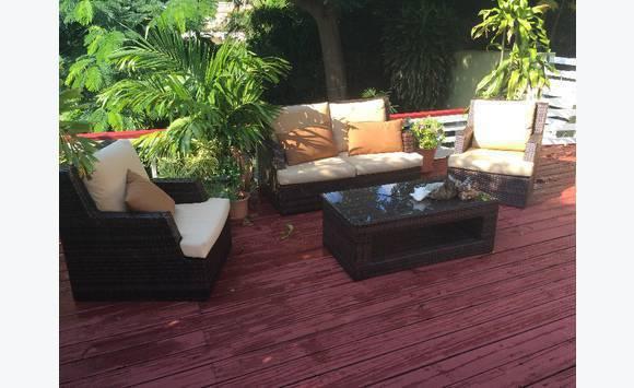 comme le nouvel ensemble de meubles de patio - Annonce - Mobilier et ...