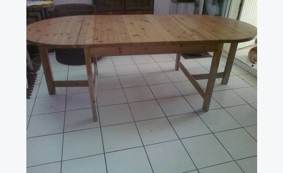grande table ovale bois massif - Grande Table Ovale