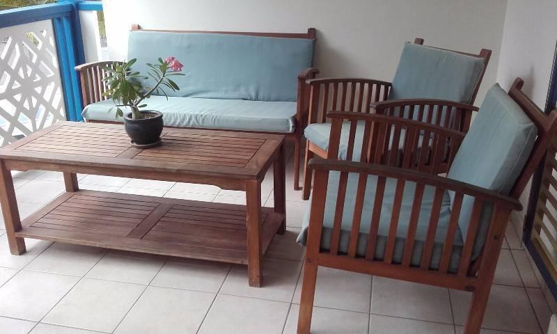 Salon teck annonce meubles et d coration concordia for Meuble concordia