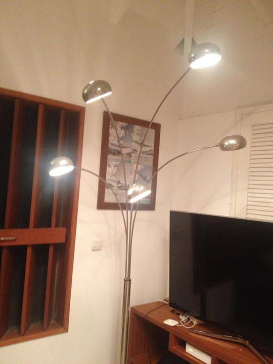 Lampadaire Orientable Boules Inox Annonce Meubles Et Decoration
