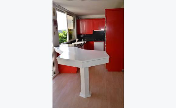 cuisine quip e annonce vide maison saint barth lemy. Black Bedroom Furniture Sets. Home Design Ideas
