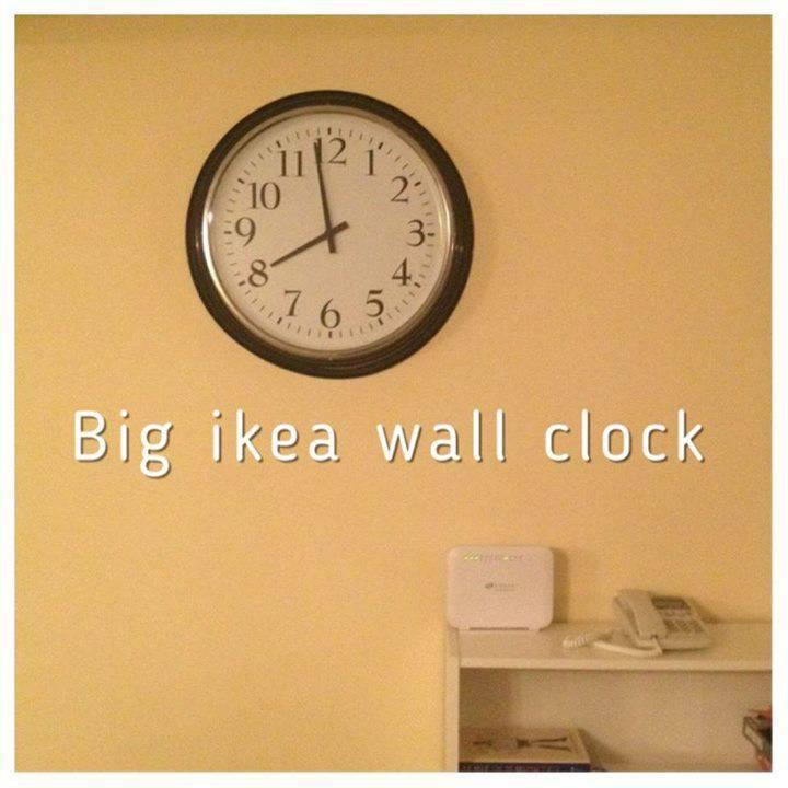 Grande horloge ikea annonce meubles et d coration sint for Ikea horloge