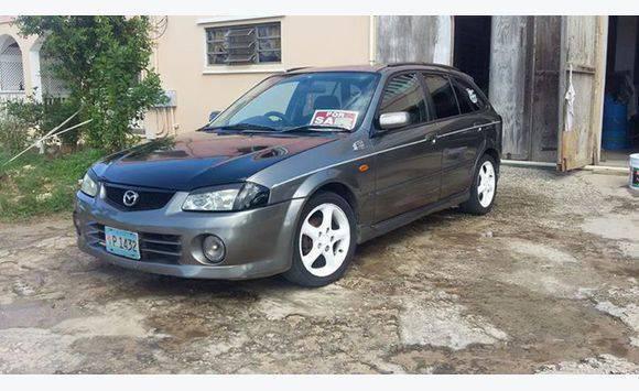 Year 2000 Mazda Famila Sport 20