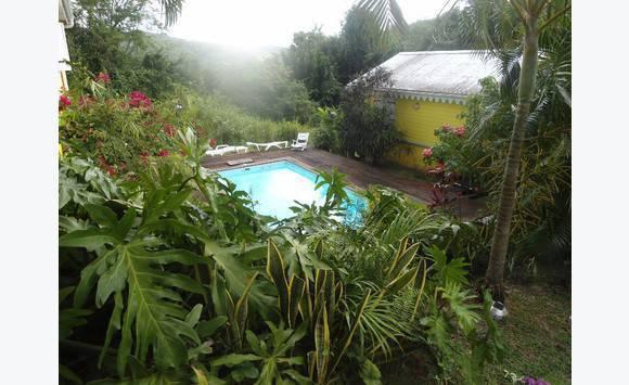 Bungalow type f2 piscine annonce locations maison le for Bungalow avec piscine martinique
