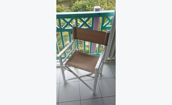 chaise pliante ext rieur annonce mobilier et quipement d 39 ext rieur saint martin. Black Bedroom Furniture Sets. Home Design Ideas