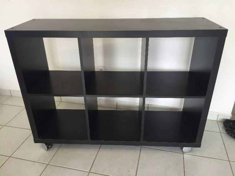 meuble 6 cases noir annonce meubles et d coration cayenne guyane. Black Bedroom Furniture Sets. Home Design Ideas