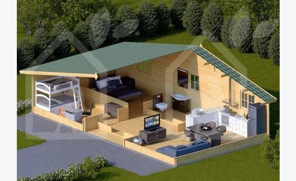 maisons en bois en kit  Annonce  Ventes Maison PetitBourg  ~ Petite Maison En Bois En Kit