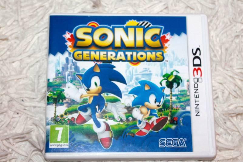 Sonic Generation DS 3D games