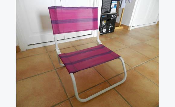 chaise de plage annonce mobilier et quipement d 39 ext rieur parc de la baie orientale saint. Black Bedroom Furniture Sets. Home Design Ideas