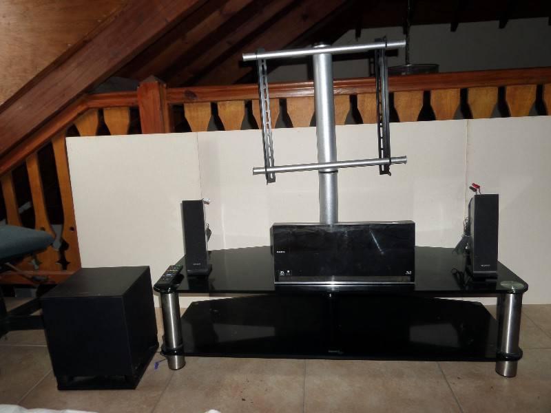 lot meuble tv home cinema annonce image son mont. Black Bedroom Furniture Sets. Home Design Ideas