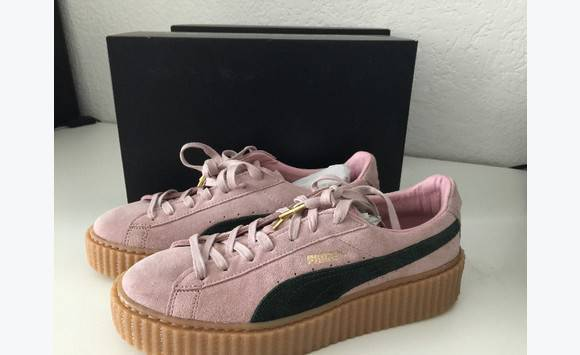 premium selection 768ce 53d63 PUMA of RIHANNA - Creppers pink/black