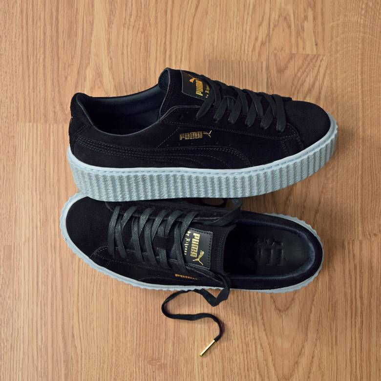 puma creepers blue
